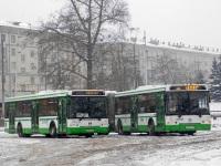 Москва. ЛиАЗ-6213.21 н439со, ЛиАЗ-5292.21 е135рн