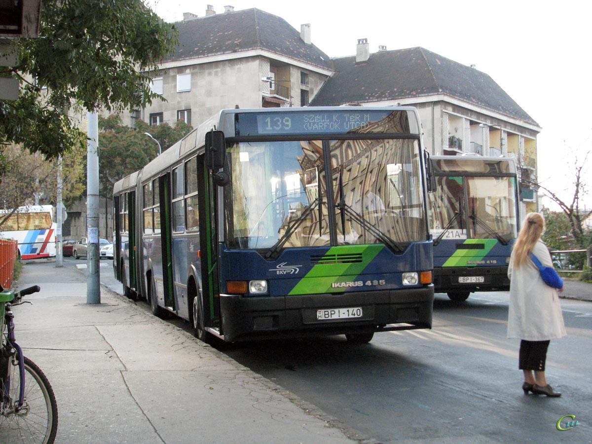 Будапешт. Ikarus 435.06 BPI-140