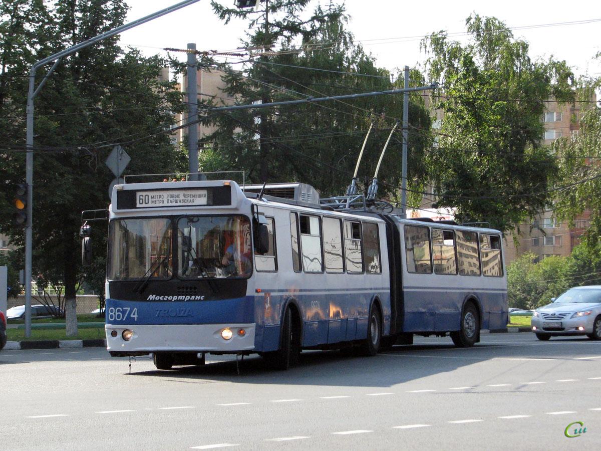 Москва. ТролЗа-62052 №8674