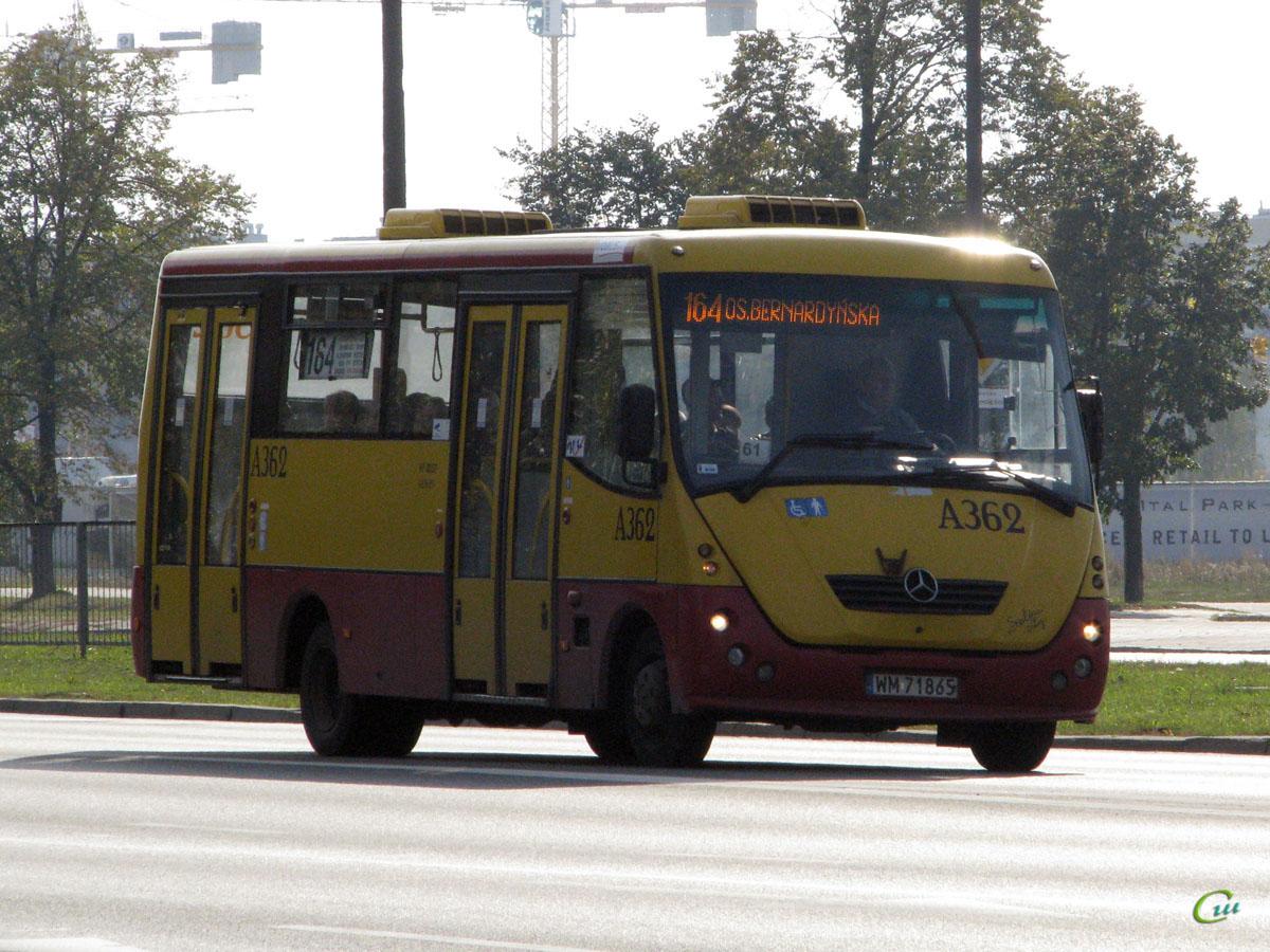Варшава. Autosan H7 WM 71865