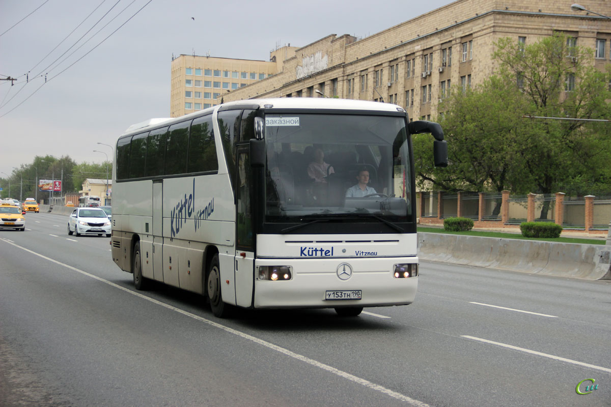 Москва. Mercedes-Benz O350 Tourismo у153тн