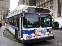 Нью-Йорк. New Flyer C40LF AU2675
