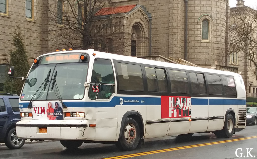 Нью-Йорк. Novabus RTS AT8117