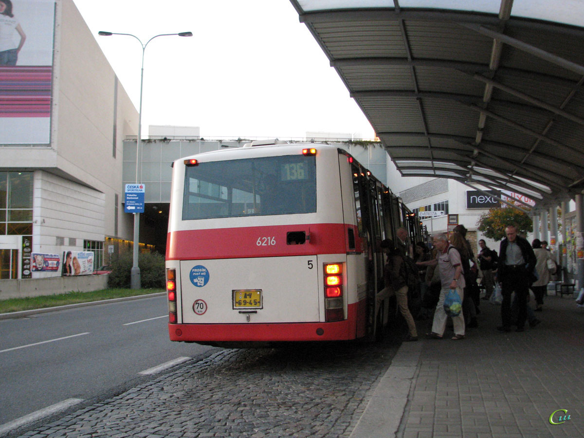 Прага. Karosa B941 AV 69-45