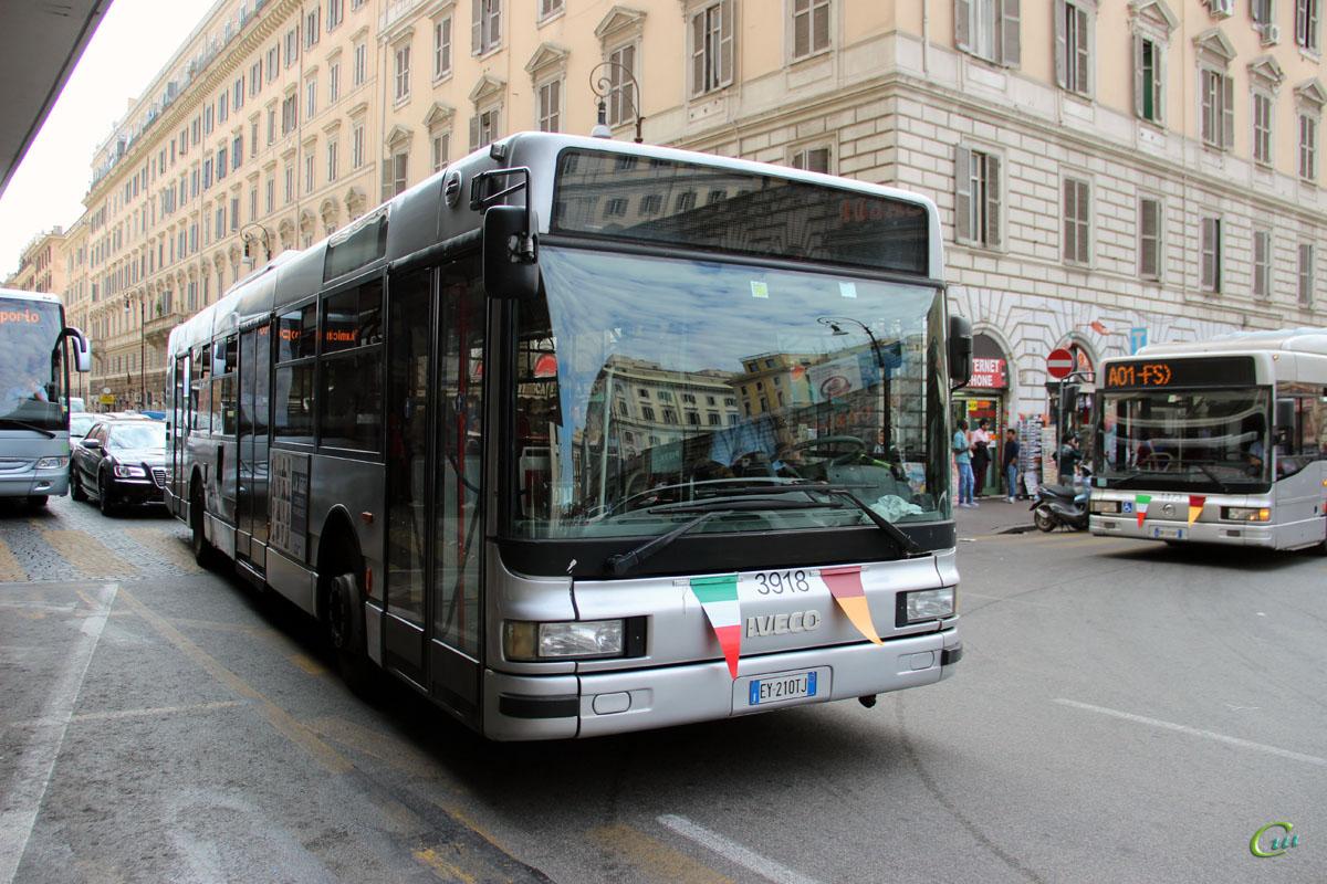 Рим. Iveco CityClass EY 210TJ, Irisbus CityClass CNG DN 509AP
