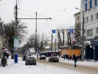 Калуга. Закрытая в 2010-м году троллейбусная линия к разворотному кольцу Рынок