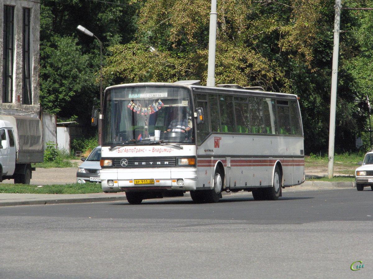 Владимир. Setra S215ÜL вр911