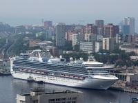Владивосток. Круизный лайнер Diamond Princess (Бриллиантовая принцесса)