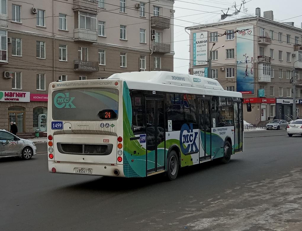 Омск. НефАЗ-5299-30-56 у855ет