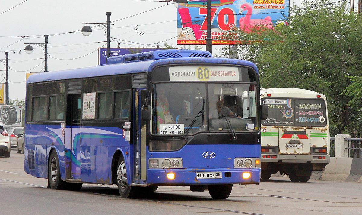 Иркутск. Hyundai AeroCity 540 м018хр, ПАЗ-32054 е460ас