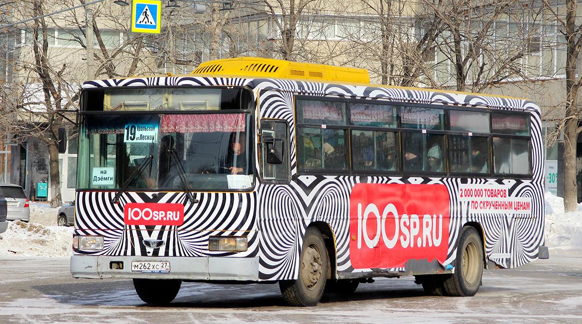 Комсомольск-на-Амуре. Daewoo BS106 м262хс