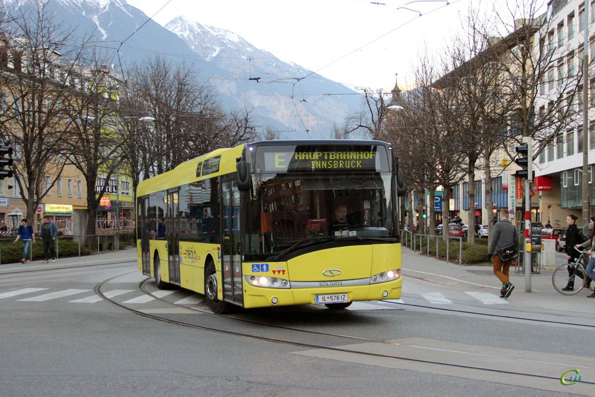 Инсбрук. Solaris Urbino 12 IL 576 IZ