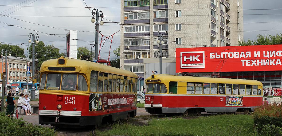Хабаровск. РВЗ-6М2 №338, РВЗ-6М2 №340