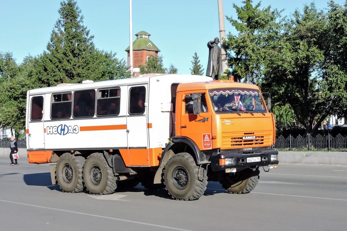 Курган. НефАЗ-4208 в621ха