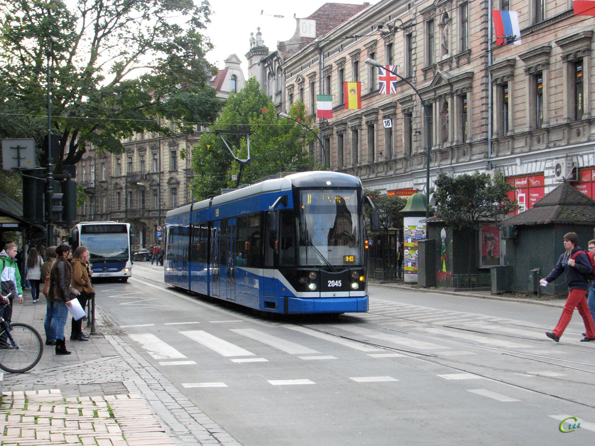 Краков. Bombardier NGT6/2 №2045