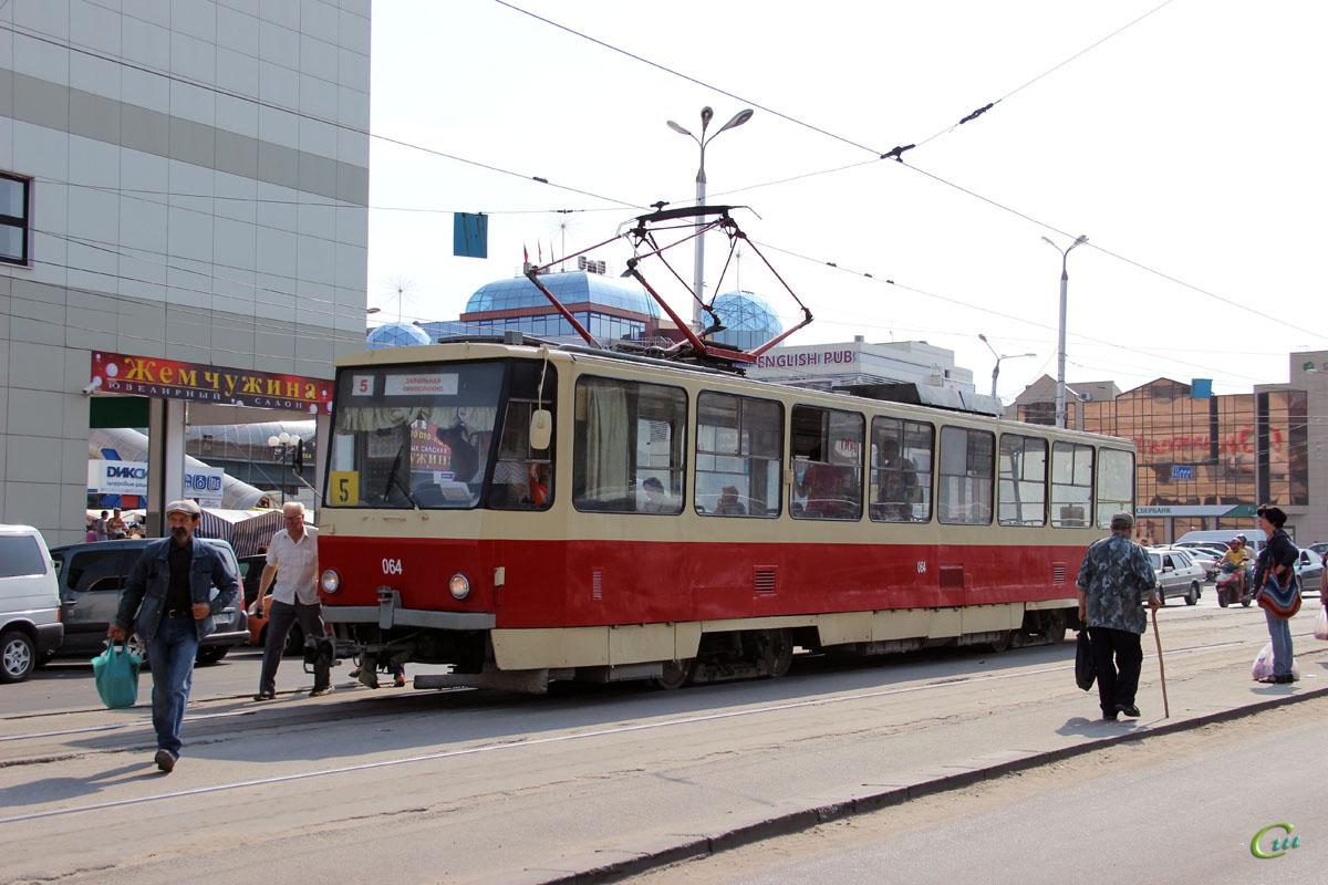 Курск. Tatra T6B5 (Tatra T3M) №064