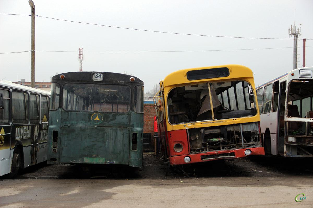Таганрог. MAN SL200 м299хе, Mercedes-Benz O305 с012ом