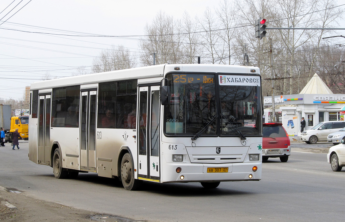 Хабаровск. НефАЗ-5299-10-32 (5299CS0) ав307