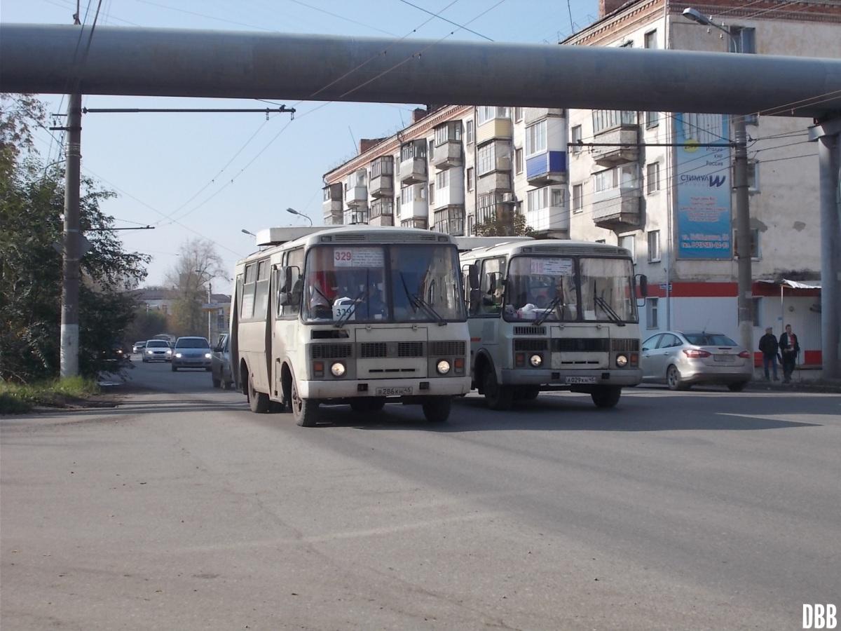 Курган. ПАЗ-32054 в286кн, ПАЗ-32054 а029кн