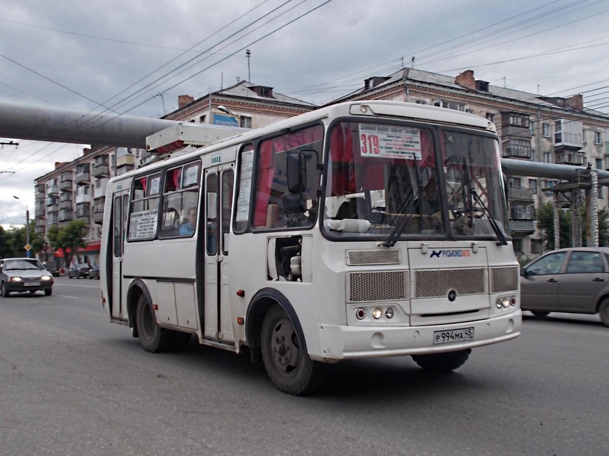 Курган. ПАЗ-32054 р994ма