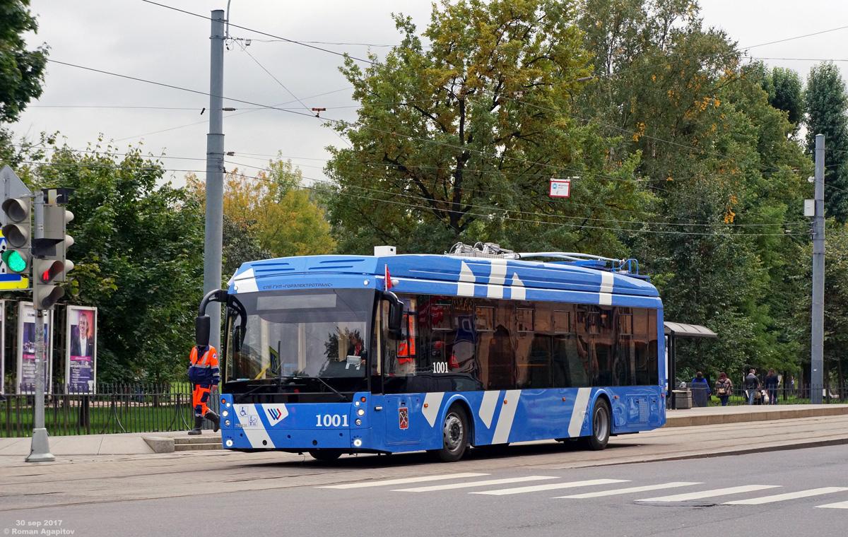 Санкт-Петербург. ТролЗа-5265.02 №1001