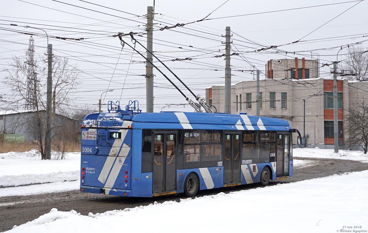 Санкт-Петербург. ТролЗа-5265.08 №1004