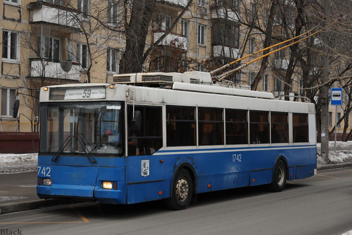 Москва. ТролЗа-5275.05 №1742