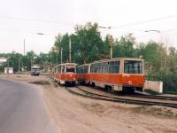 Ачинск. 71-605 (КТМ-5) №44, 71-605 (КТМ-5) №45, 71-605 (КТМ-5) №74, 71-605 (КТМ-5) №75