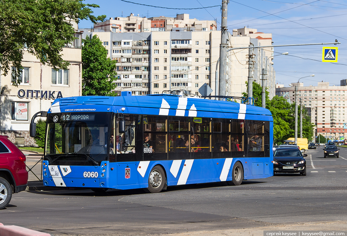 Санкт-Петербург. ТролЗа-5265.08 №6060