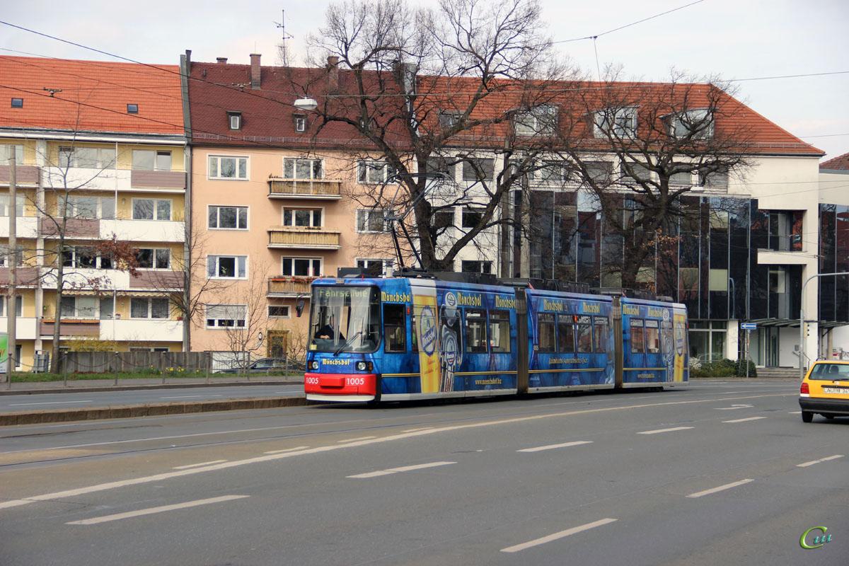 Нюрнберг. AEG GT6N №1005