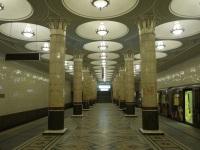 Москва. Станция Киевская, Филёвская линия