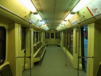 Москва. Салон промежуточного вагона поезда Акварель