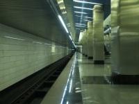 Москва. Путь в сторону будущей станции Дорогомиловская