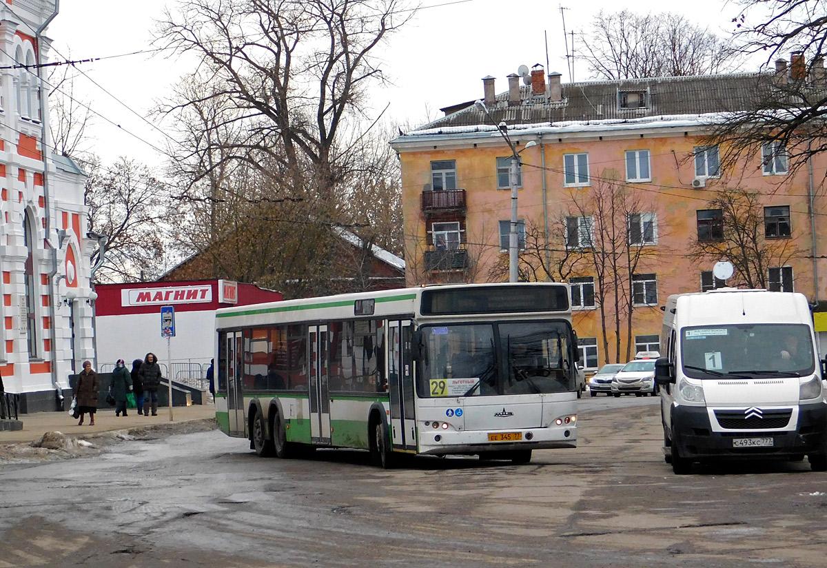 Калуга. МАЗ-107.466 ее345, Нижегородец-2227 (Citroёn Jumper) с493кс