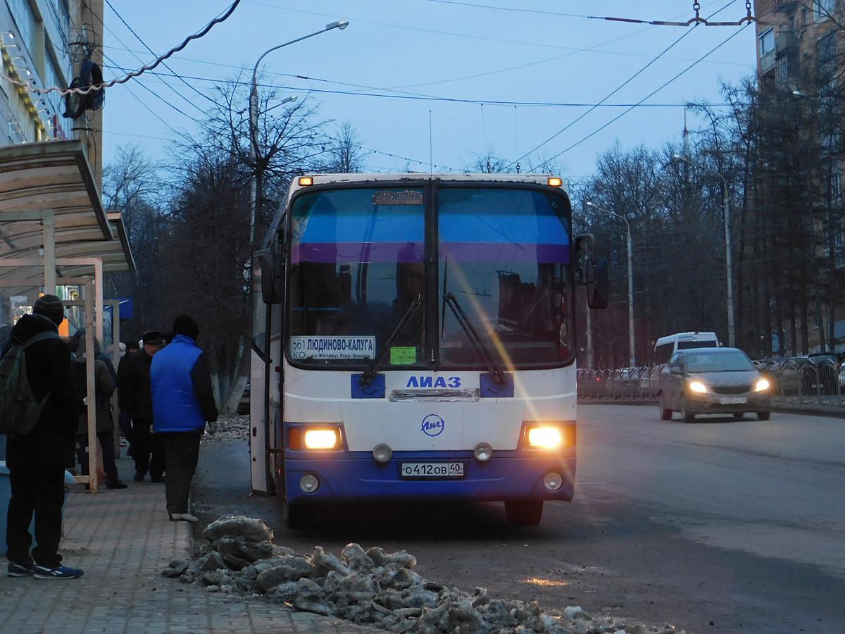 Калуга. ГолАЗ-5256.33-01 о412ов