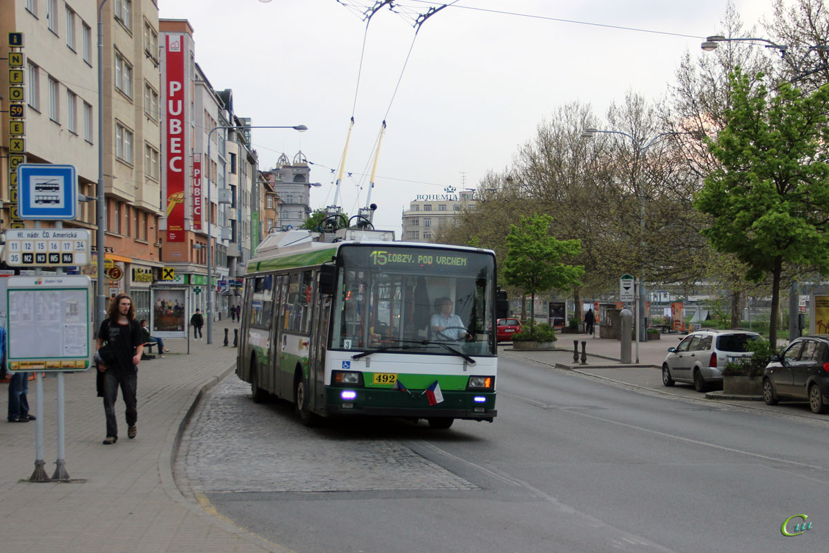 Пльзень. Škoda 21TrACI №492