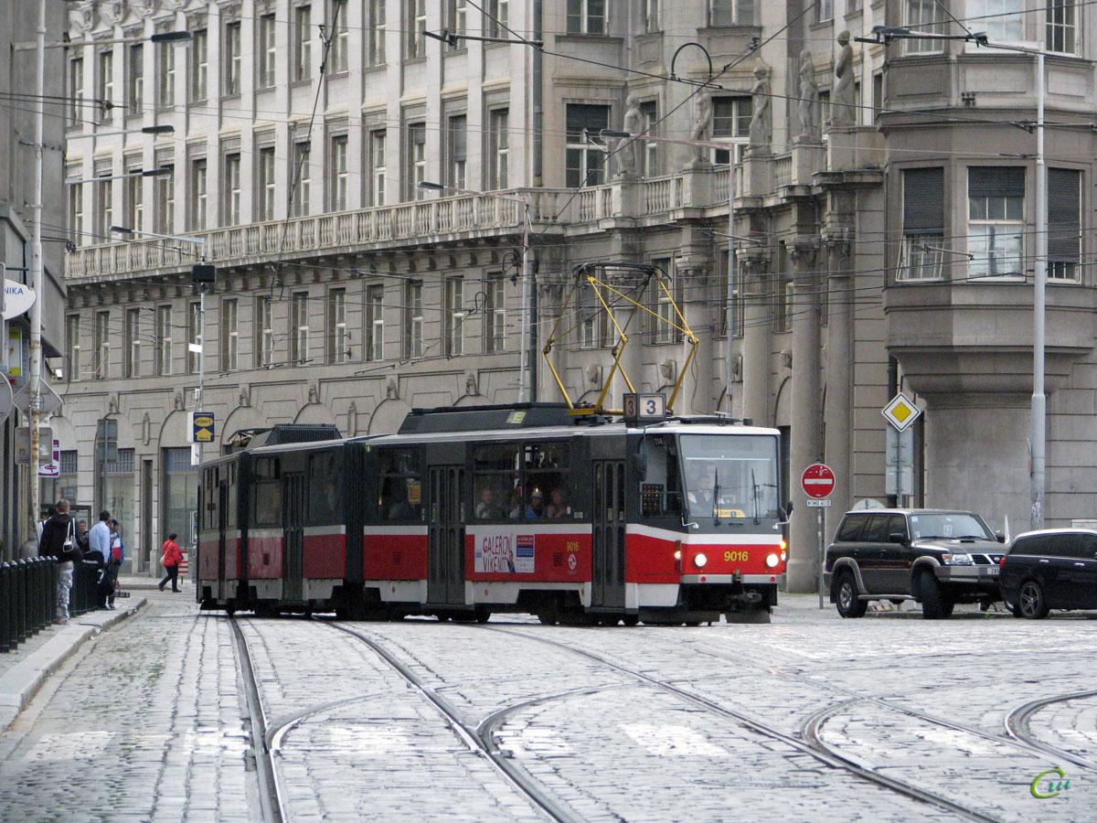 Прага. Tatra KT8D5 №9016