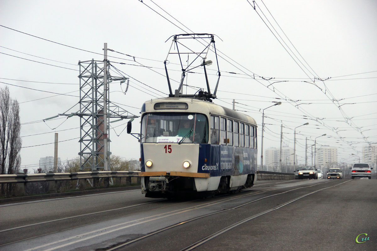 Пятигорск. Tatra T4D №15