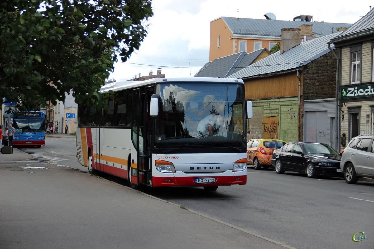 Рига. Setra S416H HO-7512