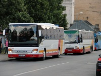 Рига. Carrus Fifty GJ-9737, Setra S416H HO-7512