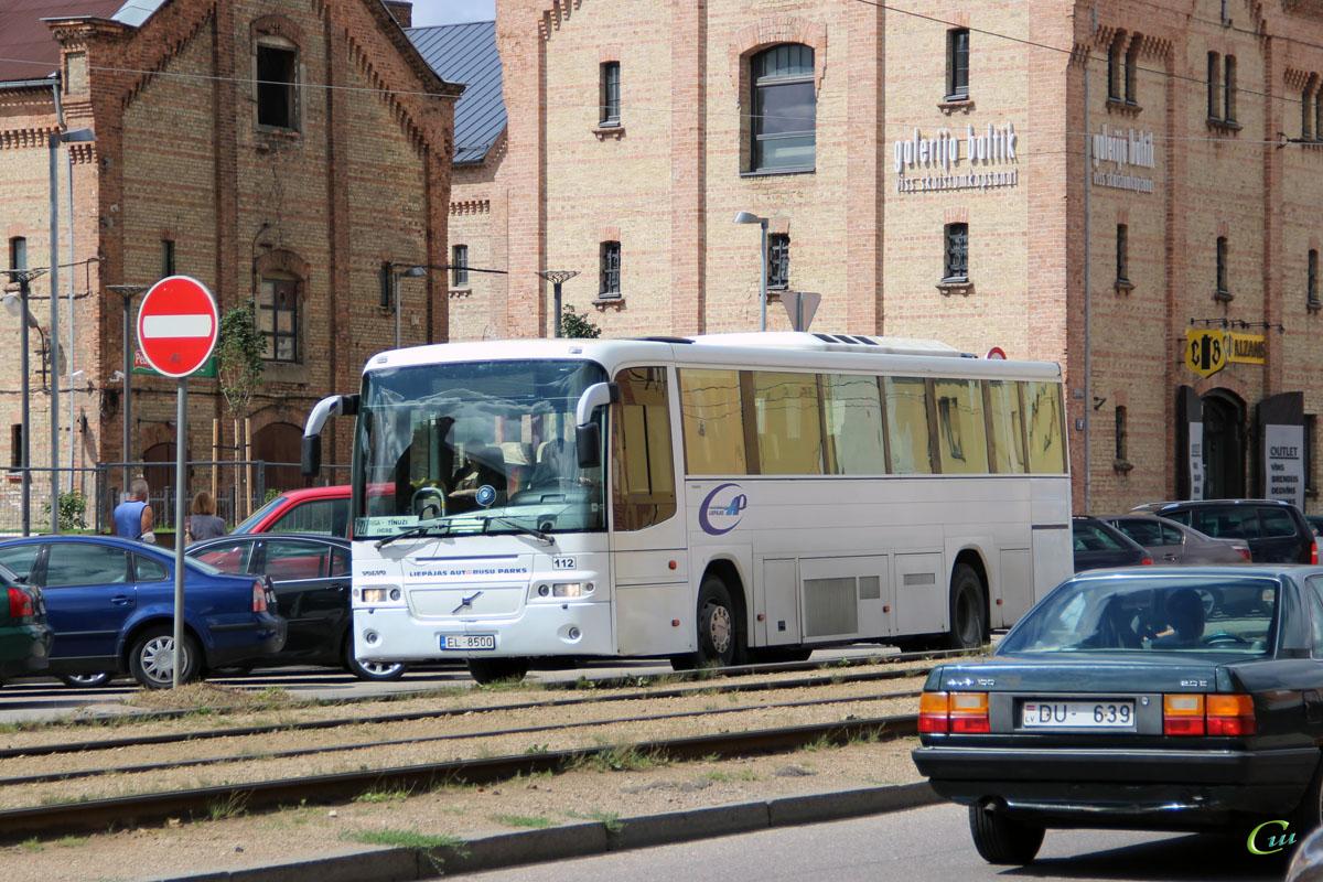 Рига. Volvo 8500 (Säffle 8500) EL-8500