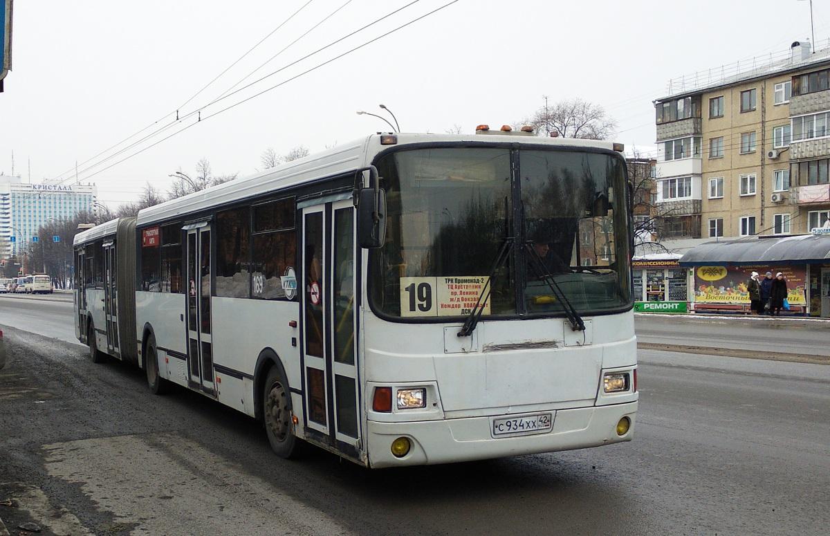 Кемерово. ЛиАЗ-6212.00 с934хх