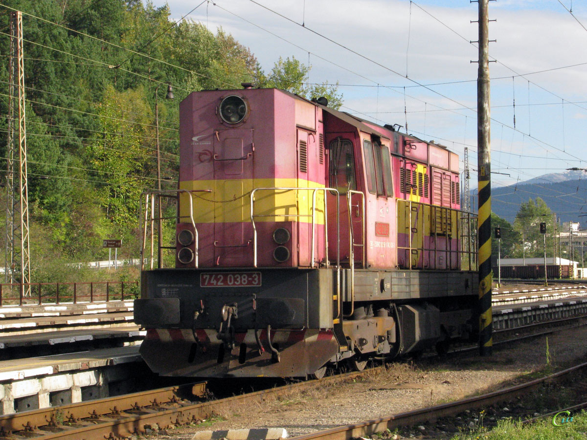Ружомберок. 742-038-3
