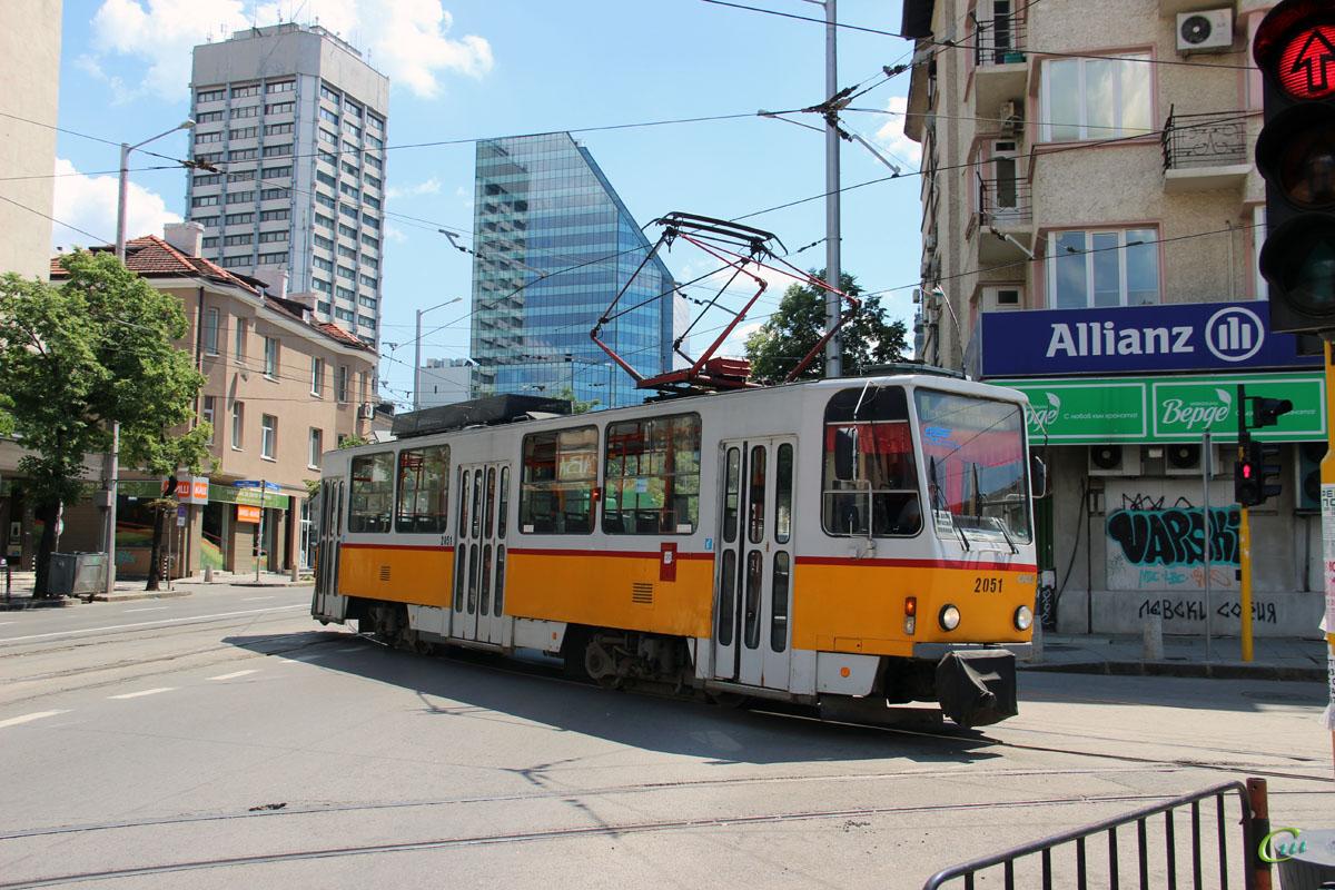 София. Tatra T6A2B №2051