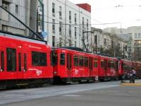 Сан-Диего. Siemens SD100 №2040, Siemens S70 LRV №4049