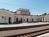 Евпатория. Здание железнодорожного вокзала