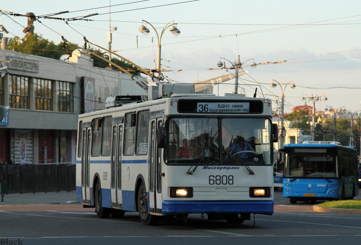 Москва. АКСМ-201 №6808, ЛиАЗ-5292.22 ху071