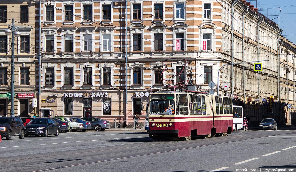 Санкт-Петербург. ЛВС-86К №3406