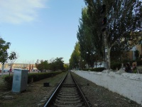 Феодосия. Входной светофор Н станции Феодосия