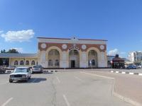 Евпатория. Вокзал станции Евпатория-Курорт